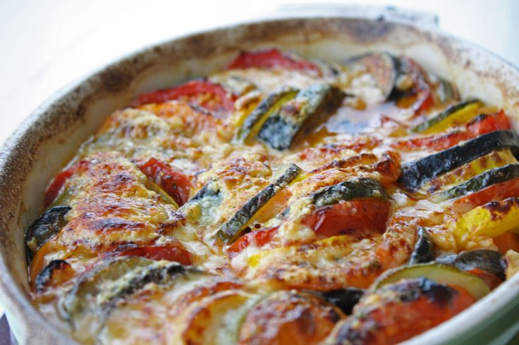 Baked Ratatouille (I LOVE Ratatouille..and not just because it's fun to say ;)