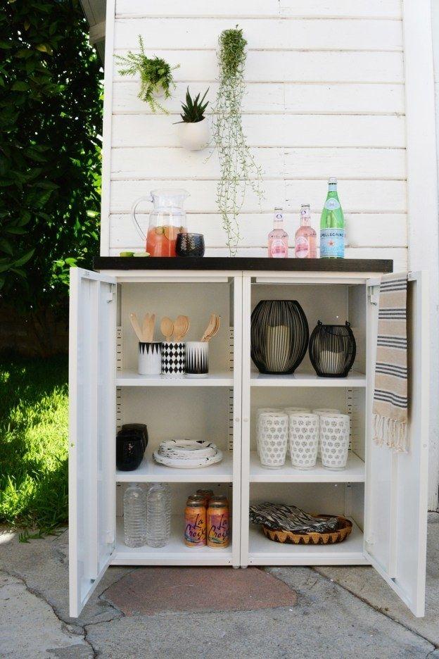 Ikea Metal Cabinet Outdoor, Outdoor Storage Cabinets Waterproof Ikea