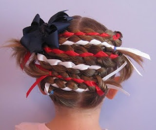 American flag hair! Can't wait to try this!