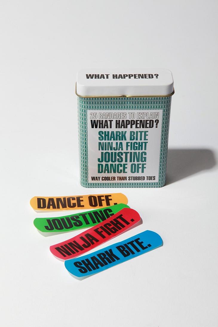 Bandages to Explain What Happened...