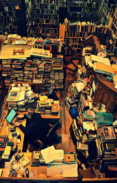 Leakey's Bookshop, Church Street, Inverness, UK. It's Scotland's largest secondhand bookshop and it's been housed for the last 20 years in the old Gaelic Church (1793).