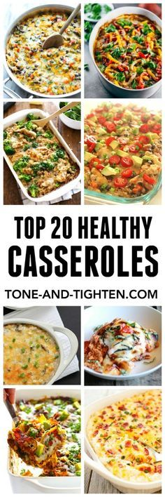 Top 20 Healthy Casseroles for Dinner