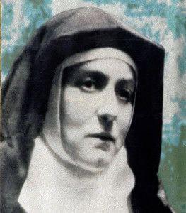 Oración de abandono…. de Santa Teresa Benedicta de la Cruz