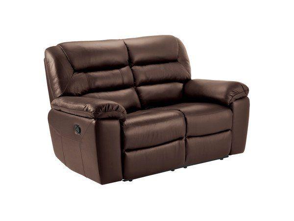 Two Tone Brown Leather Sofas 2 Seater Electric Recliner Sofa Devon Range Oak Furnitureland Tan Leather Sofas Manual Recliner Sofa Reclining Sofa