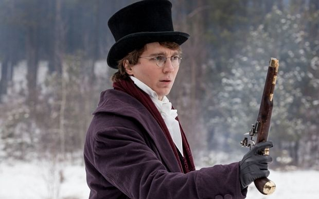 Paul Dano as Pierre Bezukhov (Photo: BBC/Laurie/Sparham) War and Peace, first-look review: 'breathtaking' - Telegraph