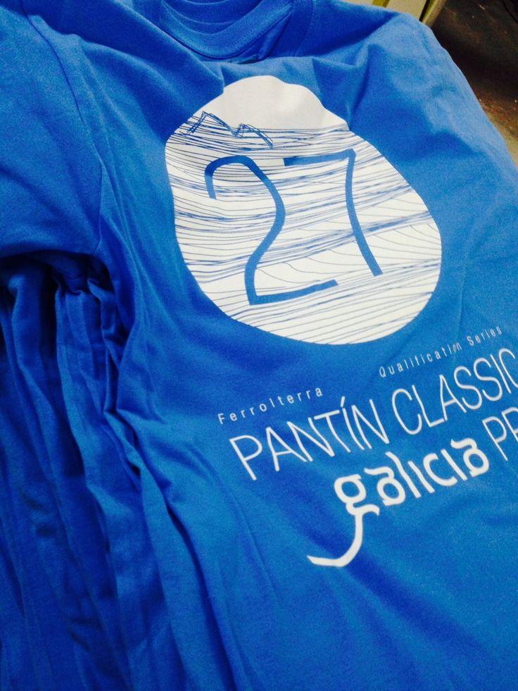 Camiseta Blue Pantin Classic Pro