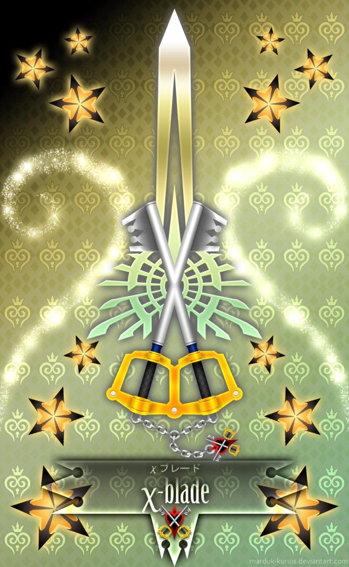 Keyblade X-blade by Marduk-Kurios on DeviantArt