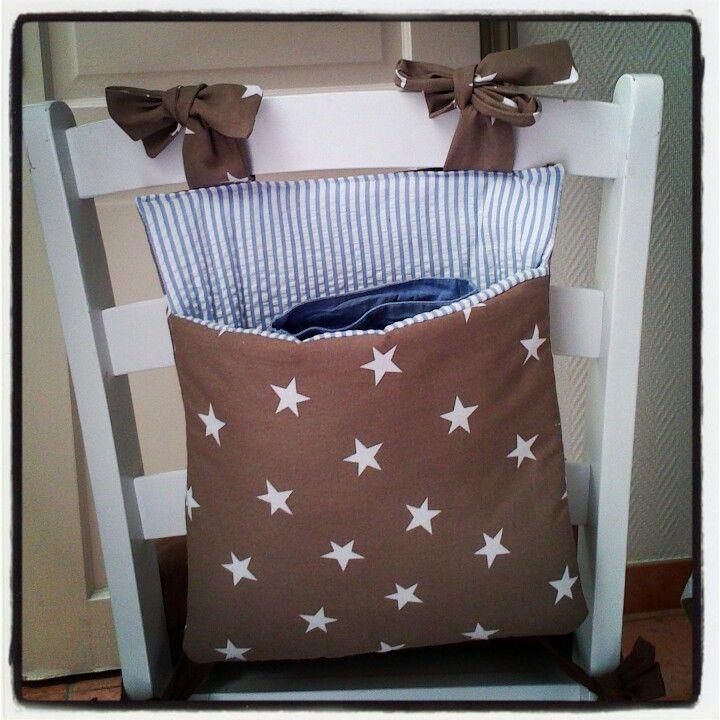 bolsa guardapijamas para silla