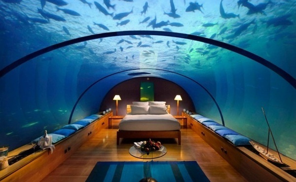 AMAZING!: Dreams Bedrooms, Cool Houses, Crazy Houses, Amazing Hotels, Hotels Suits, Aquarium Rooms, Around The World, The, Aquarium Bedrooms
