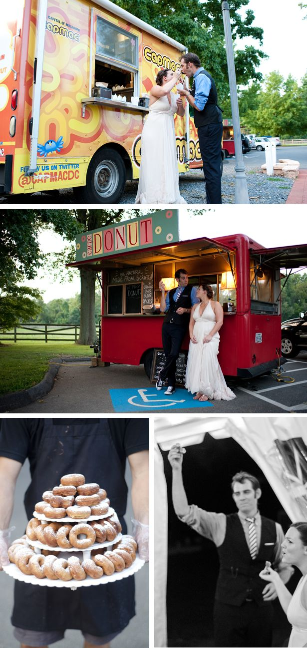Carpe Donut - Charlottesville-based onsite organic coffee, donuts, and ice cream. Just featured in Town & Country Weddings! Love these guys.: Food Trucks Wedding, Fun Food, Wire Blog, Donuts Food, Wedding Ideas, Country Weddings, Elizabeth Amazing, Catering Ideas, Eden Features