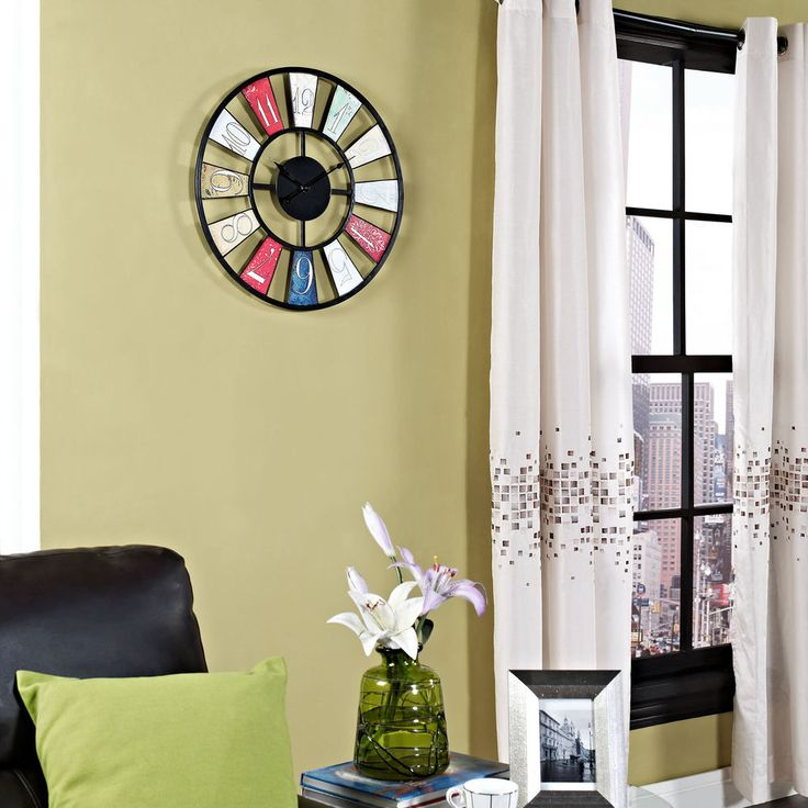 Modern Lulu Decor Wall Clock Image Collection - Wall Art Design ...