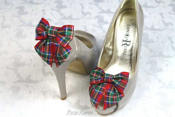 Bouquet by Rosa Loren sell a wide range of tartan shoe bows for £12.64 per pair.