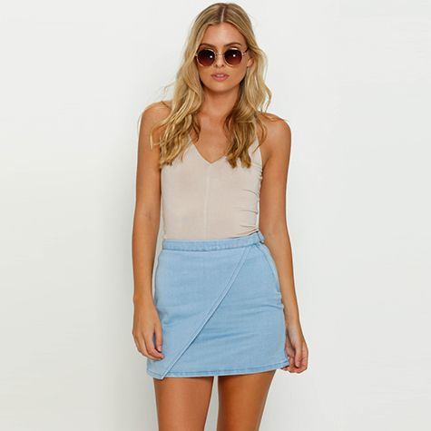 Image for Ava And Ever Hitched Skirt from City Beach Australia