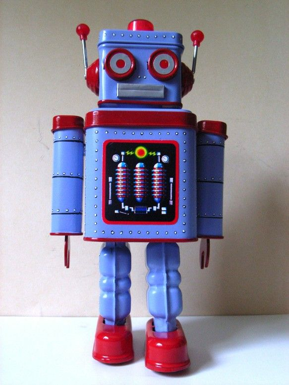I've decided I want to start collecting Vintage Robots :)