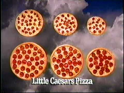 Funny classic Little Ceaser's Pizza commercial. Loved those ads. What's your favorite old pizza ad?