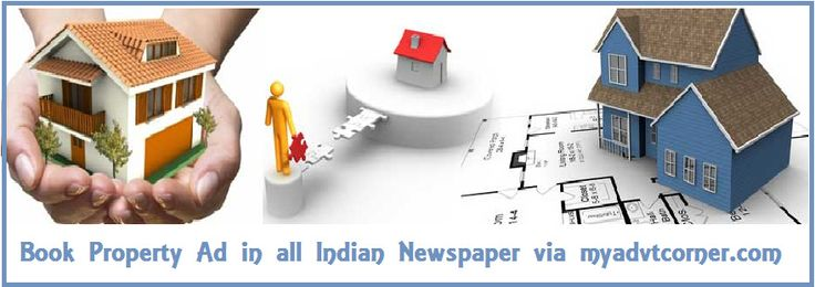 Book #Property to #Rent #Classified #Ads in #newspaper via #myadvtcorner
