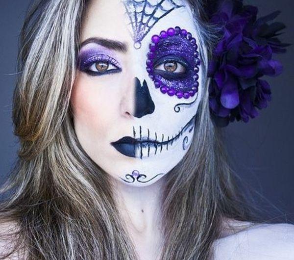 Professionele Halloween Kostuums.Coole Halloween Schmink Ideen Halloween Halloween