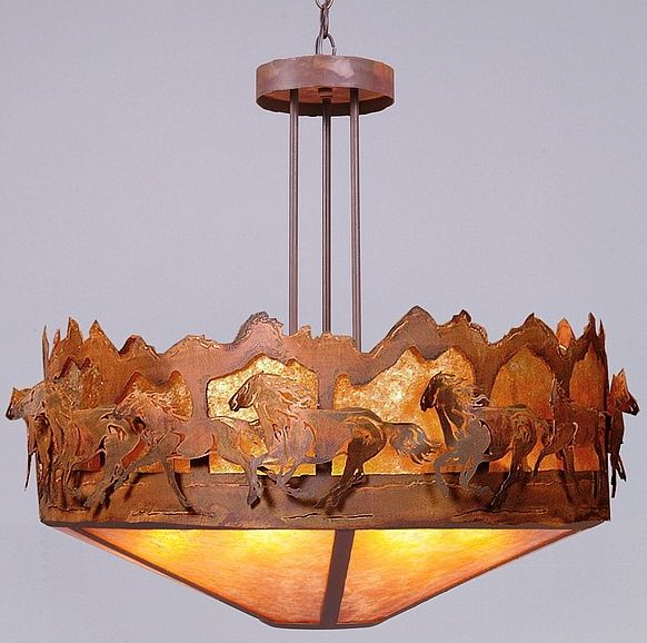 193 Best images about WesternRustic Lighting – Cowboy Chandelier