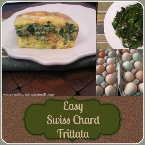 Swiss Chard Frittata Recipe