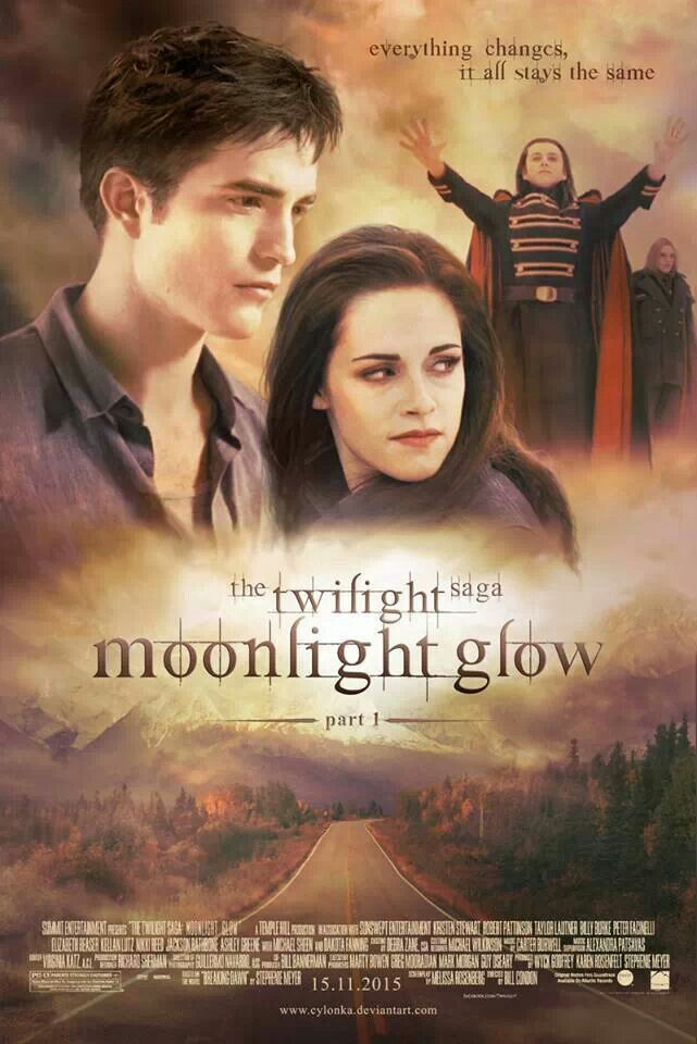 The Twilight saga moonlight glow part 1 I want to see this movie ...
