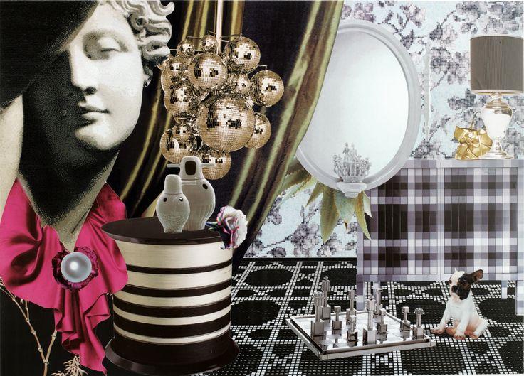 """Wonder Rooms"" by Audrey Soubiran published in ELLE Decoration"