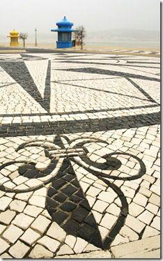 Um trajecto pela calçada portuguesa - Foz do Arelho