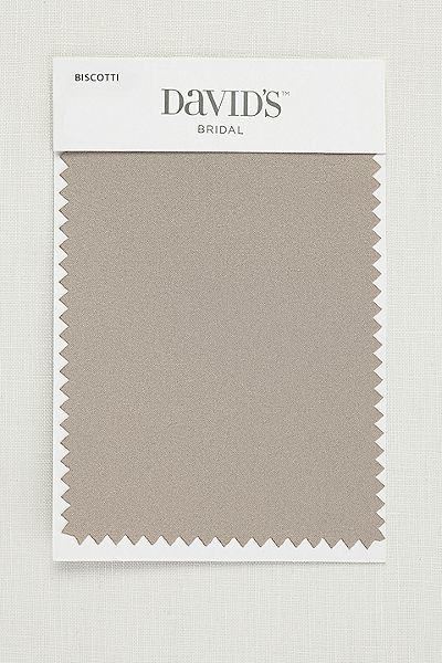 David's Bridal - Biscotti Swatch