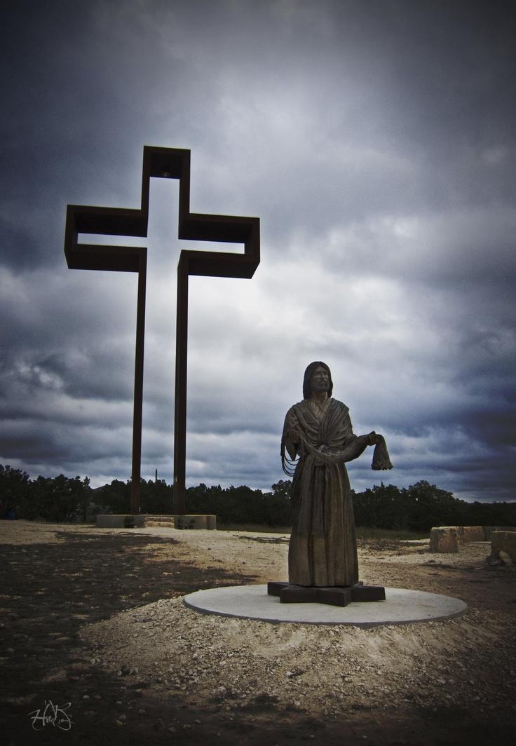 Empty Cross, Kerrville Texas | Things I love | Pinterest