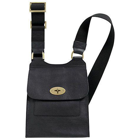 Buy Mulberry Antony Satchel Across Body Bag Online at johnlewis.com