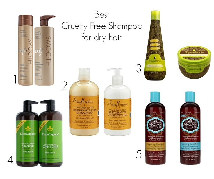 Best Cruelty Free Shampoo for dry hair   Beauty4Free2U