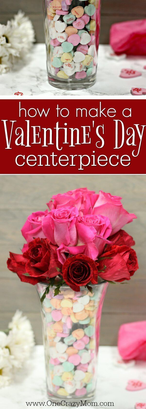 Valentine's Day Centerpiece – DIY Valentine's Day Decor
