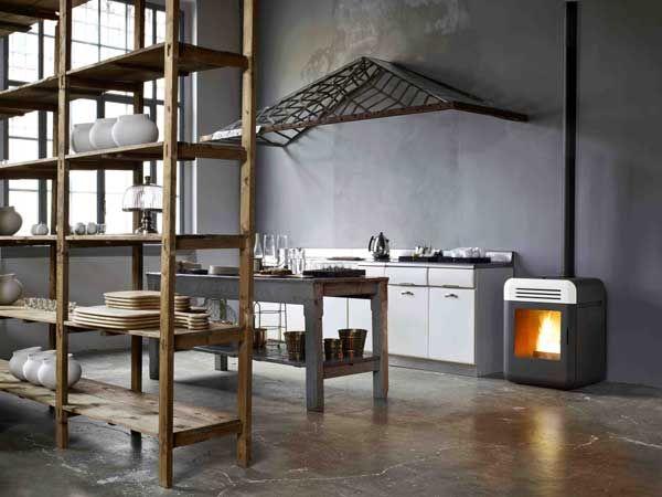 21 best Fireplaces, Wood & pellet burners images on Pinterest | Fire ...