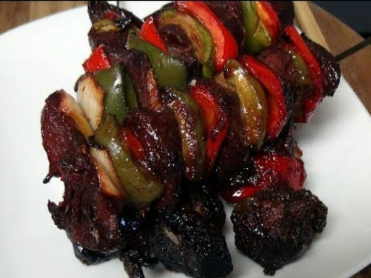 Kalbi Marinated Beef Kabobs In The Pit Barrel Recipe by MothersBBQ | iFood.tv