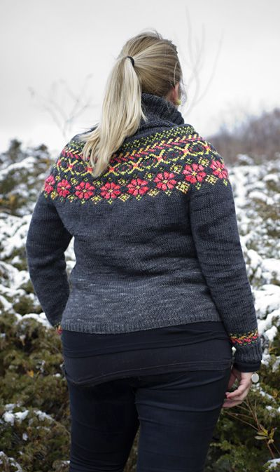Winter Doldrums pullover -  Knitty.com - Winter 2014