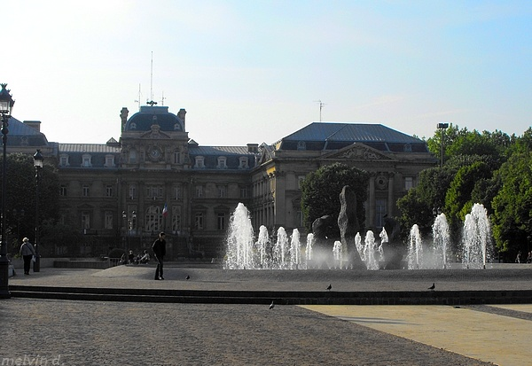 Place de la République,Lille,Nord-Pas-de-Calais. Built in 1858 on the ancient walls, & placed between the historic centre & the newly annexed southern districts. Originally called Place Napoleon III. Bordered by the Prefecture on the north & the Palais des Beaux-Arts on the south.