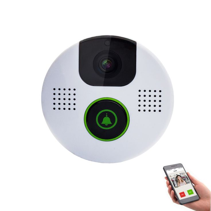 Aly803 WiFi Video Interkom Pintu Telepon Kamera Lubang Nirkabel 720 P Night Vision Built-In 8 GB Kartu TF Menghubungkan E-kunci dan M-kunci