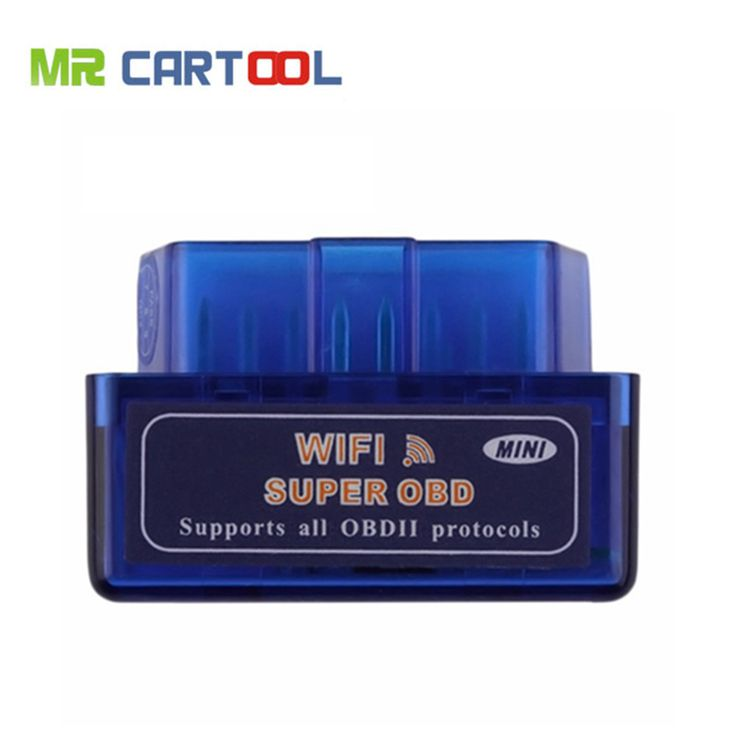 ELM327 WIFI V1.5 OBD2 Auto Scanner For Android & IOS System ELM327 Wifi Support All OBDII Protocols Free Shipping