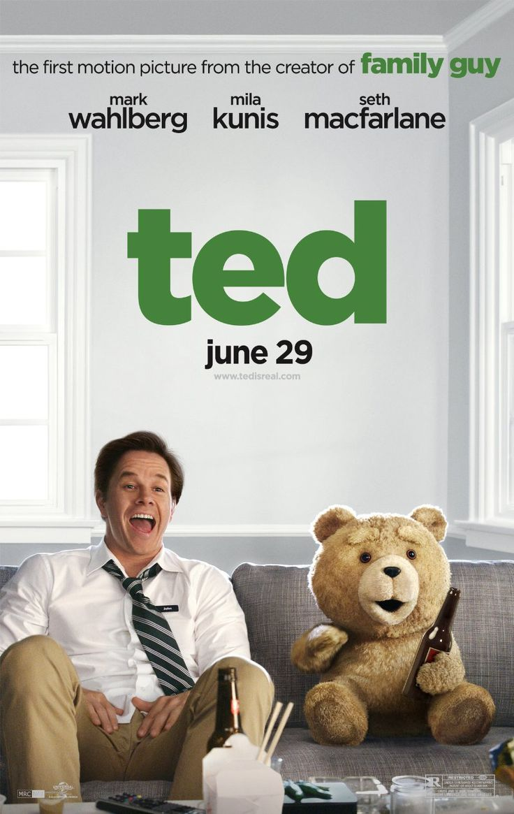 Watching this movie right now.  Ted -- Family Guy creator Seth MacFarlane offers even more outrageous laughs with Ted Unrated, the story of a grown man (Mark Wahlberg) and his lovably profane talking teddy bear.
