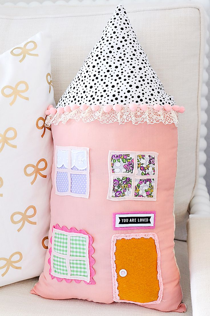 DIY House Pillow Kit-1