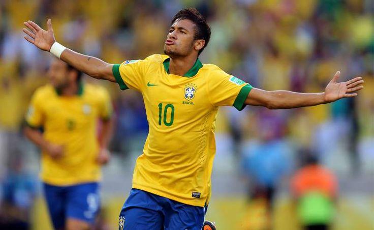 """Neymar regresa a la selección de Brasil tras su sanción - El seleccionador brasileño, Dunga, anunció hoy la lista de jugadores para los dos próximos partidos de la """"canarinha"""" en la eliminatoria suramerica..."""