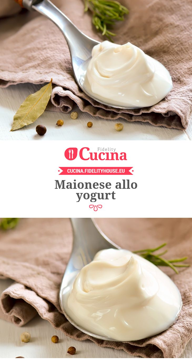 Maionese allo yogurt