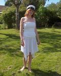 Graduating bodice ad skirt, made spring 2005