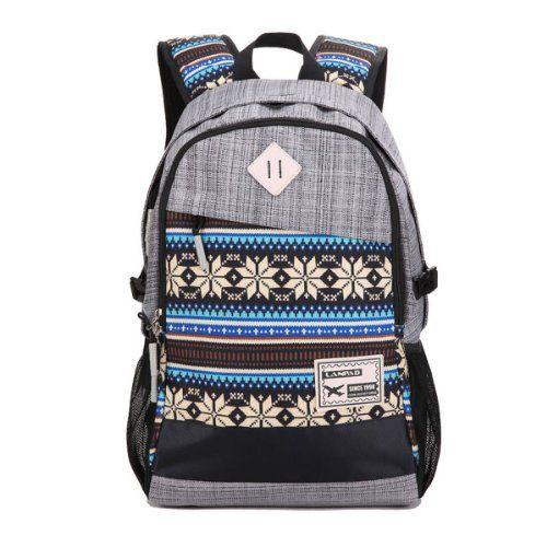 Herebuy - Tribal-print Daypack: Best Backpacks for College Girls and Boys (Grey) Herebuy Backpacks http://www.amazon.com/dp/B00JGO0MR2/ref=cm_sw_r_pi_dp_7YR2tb0DAAC5Q8KG