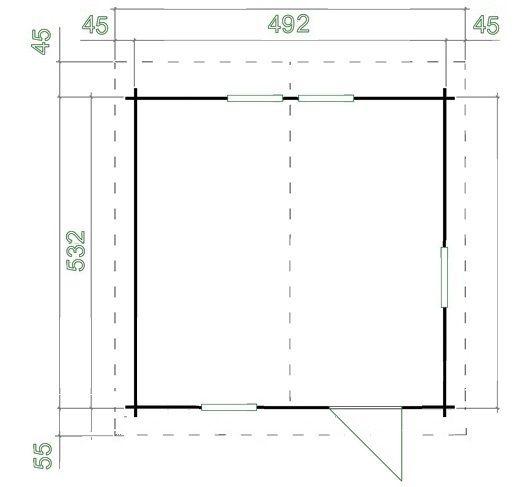 Domek Renifer S - 39m/2 -