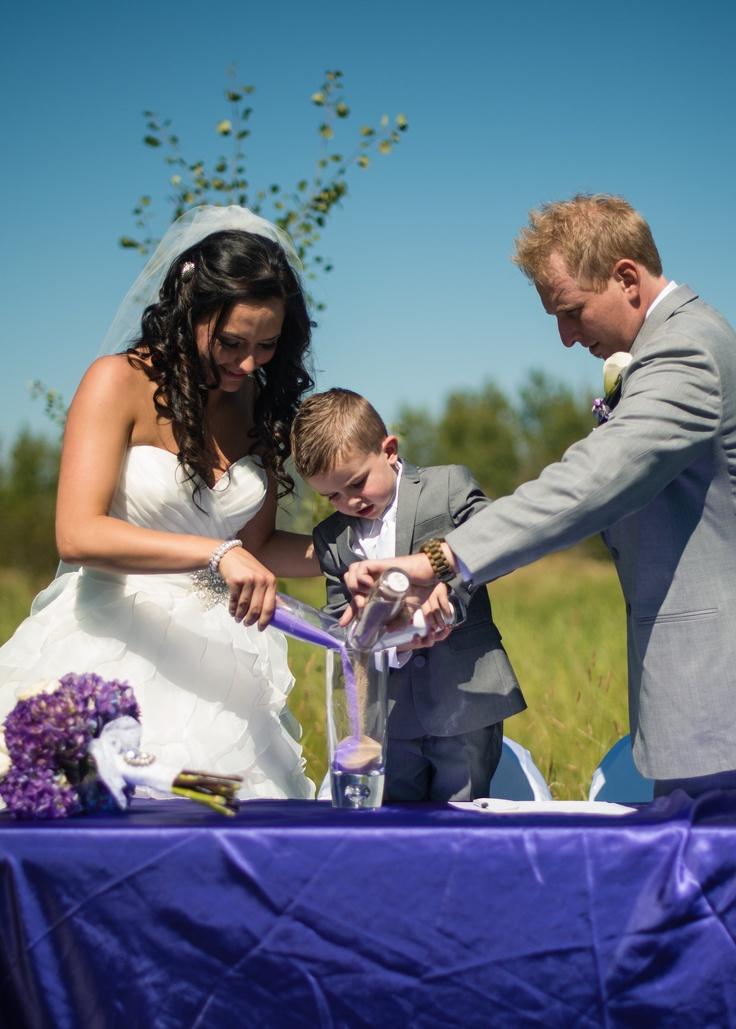Wedding photography by Matt Kennedy  www.mattkennedy.ca    #unity candle #wedding with children