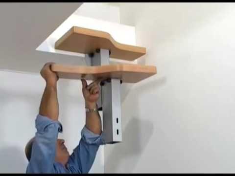 Mini video de instalación escalera modular para espacios reducidos - YouTube