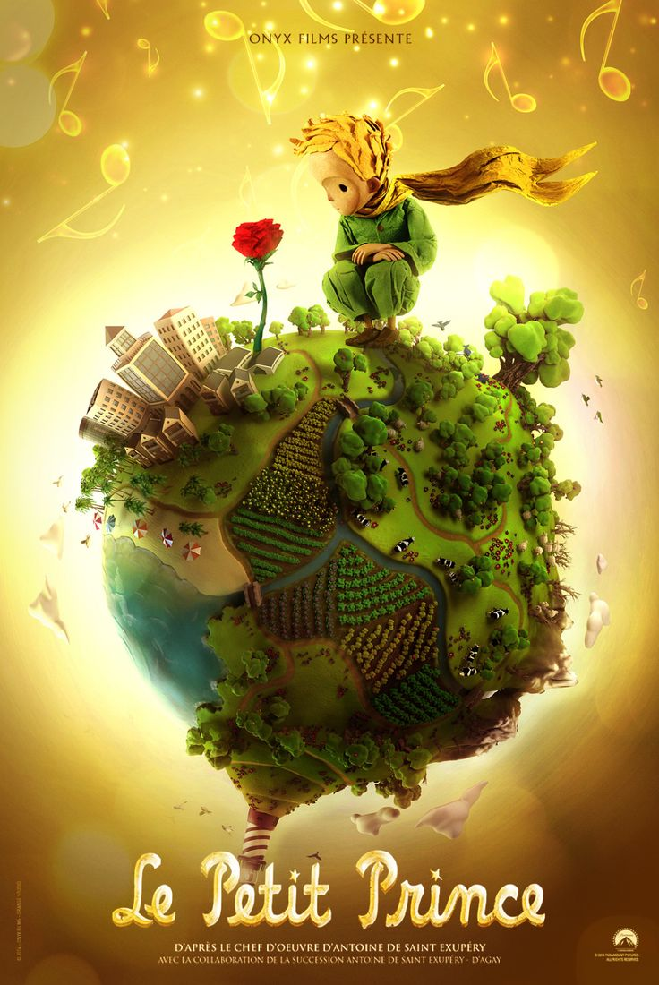 Billedresultat for the little prince movie poster