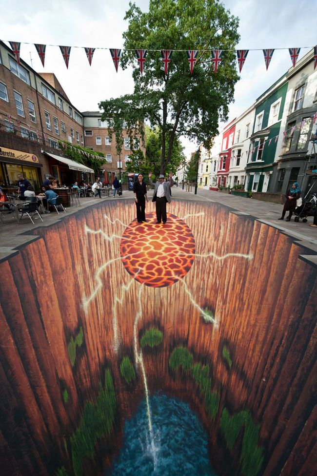 3D Street Art 11 3D Street Art by Edgar Mueller