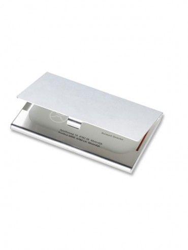 Suport cărţi de vizită aluminiu. Cod produs: 22-KC2225.