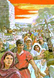 """Isaiah 3: 5. """"And the people shall be oppressed, every one by another, and every…"""